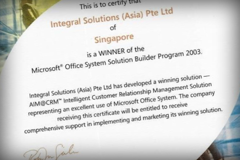 MS Awards 2003