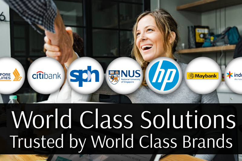 World class solutions trusted by world class brands across multiple industries.